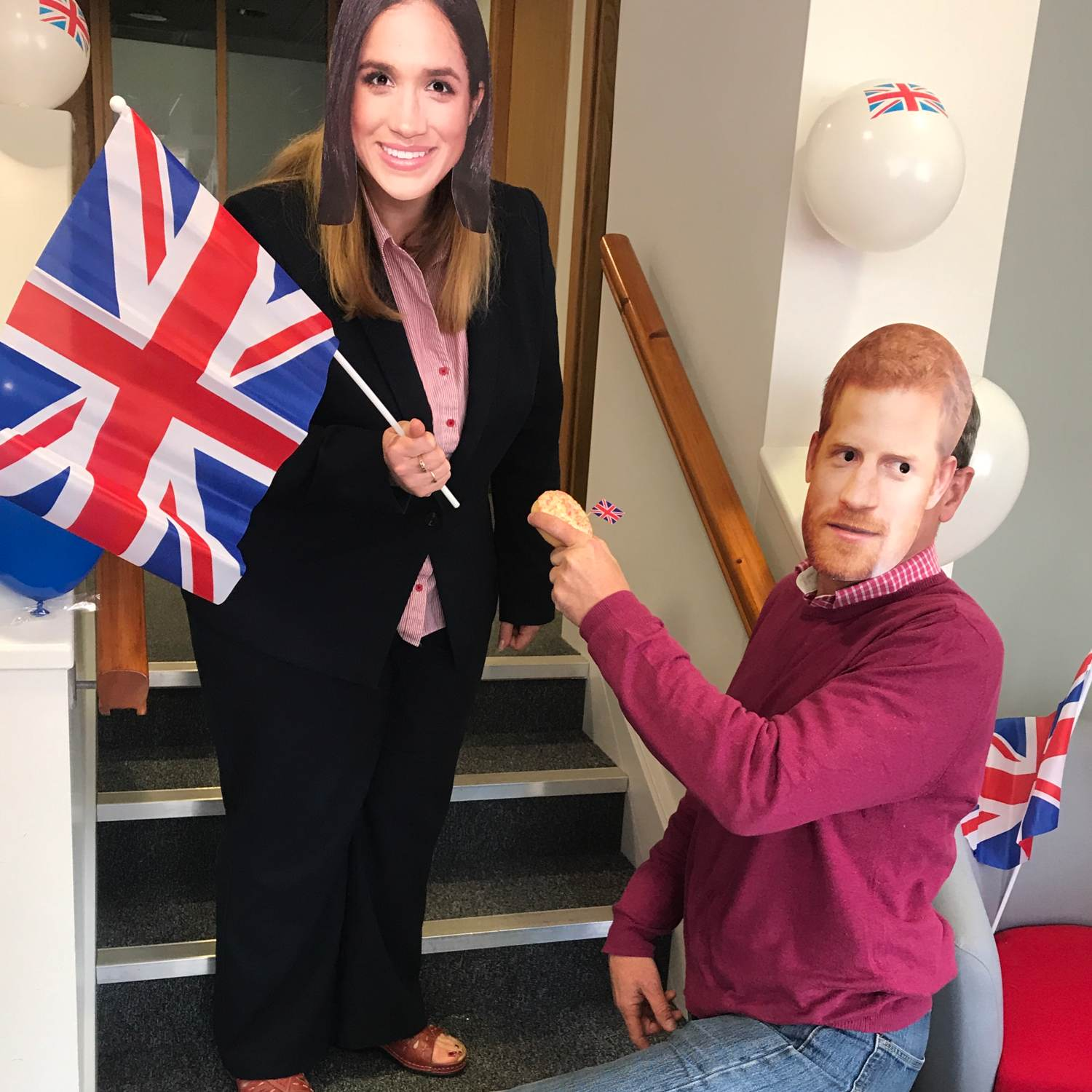 Foys Royal Wedding celebrations are a triumph!