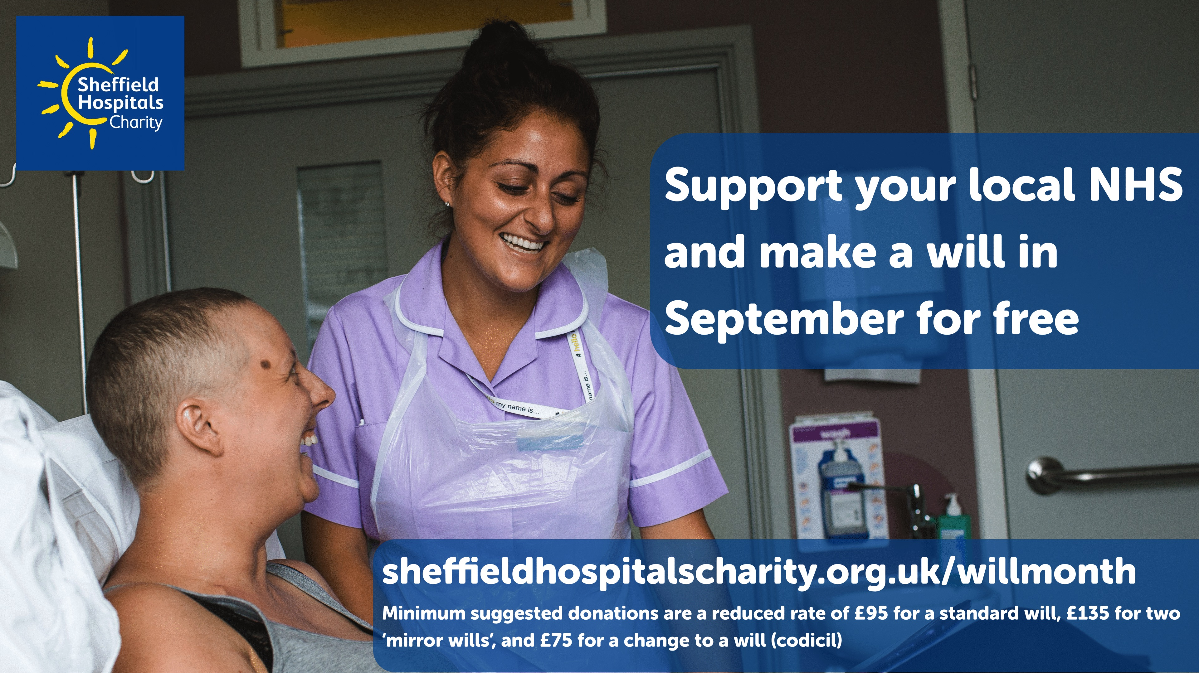 Foys Solicitors are taking part in Will Month this September to support Sheffield Hospitals Charity
