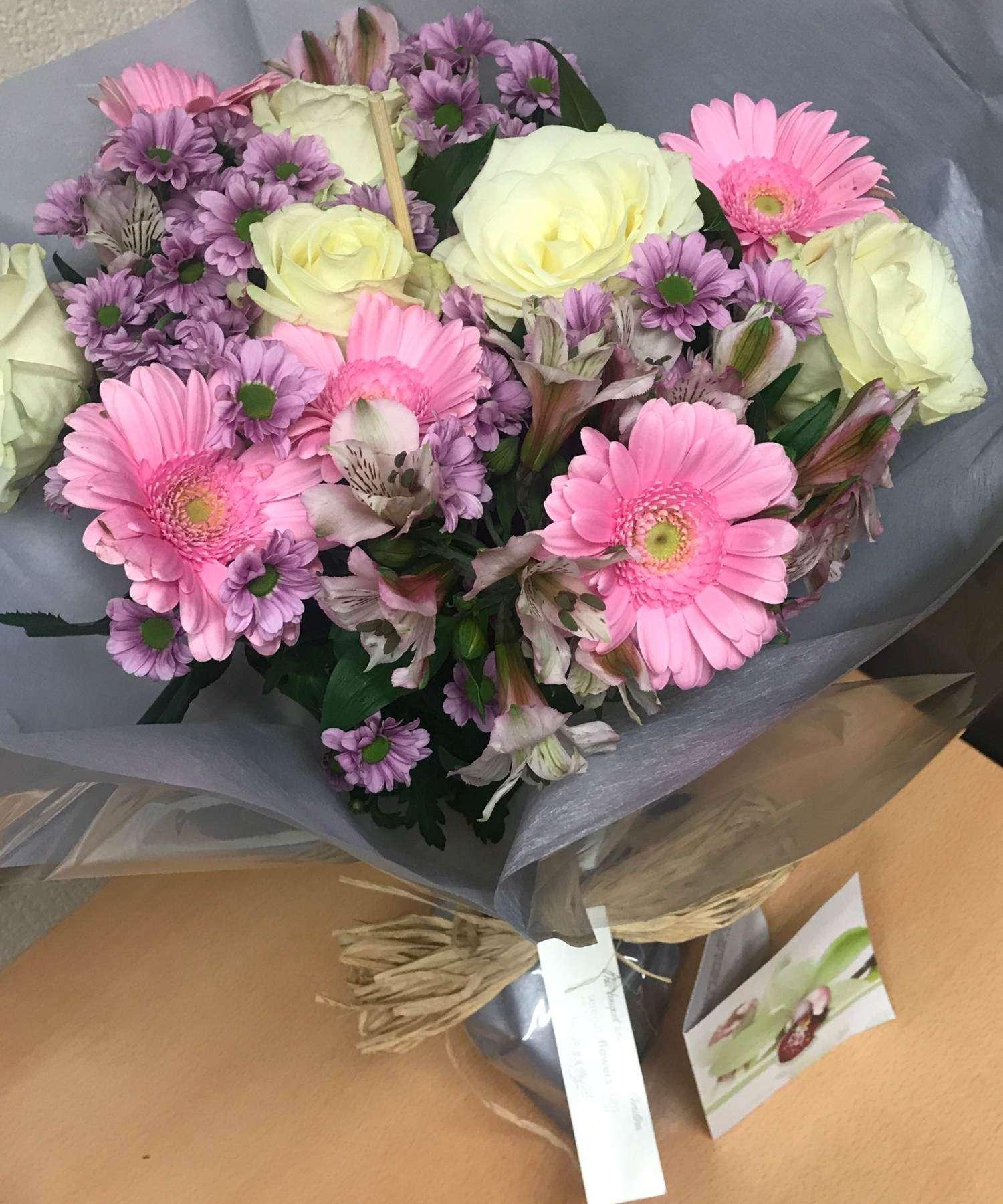 Flowers for Mel