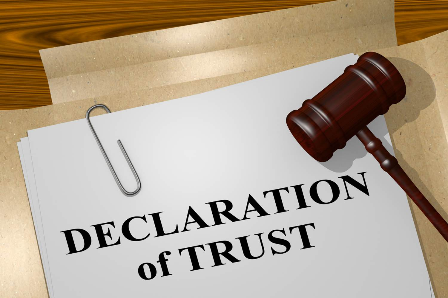What is a Declaration of Trust?