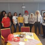 Red nose Day at Foys Doncaster office