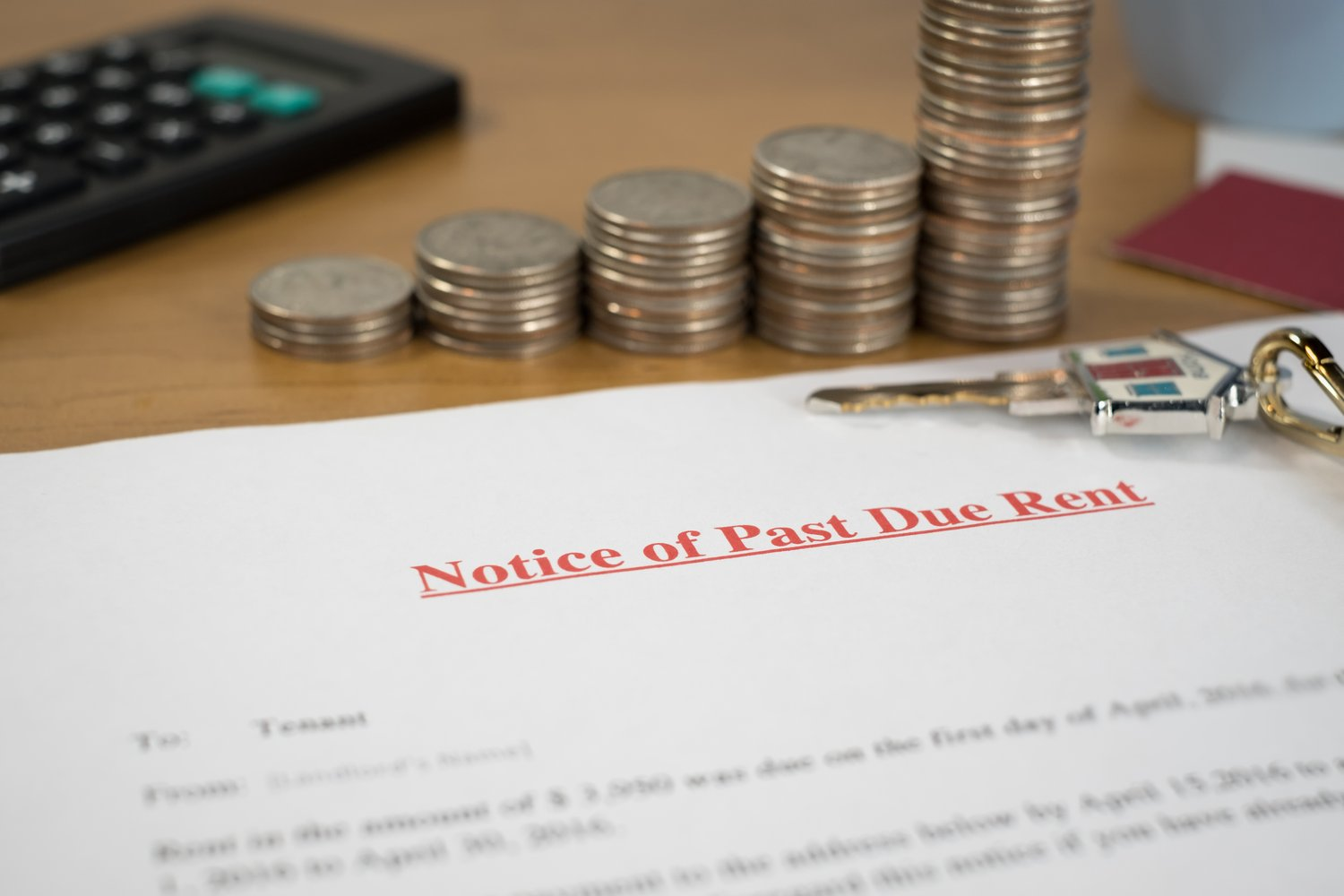 Dealing with rent arrears as a commercial landlord