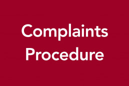 Complaints procedure image