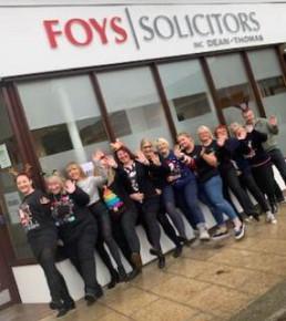 Worksop office-team outside
